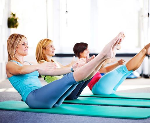 пилатес для похудения дома видео занятий